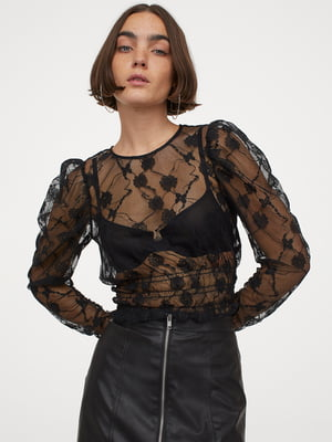 Блуза чорна | 5853016
