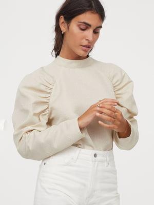 Блуза бежева | 5853050