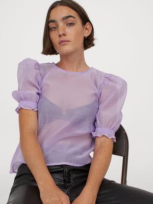 Блуза лилового цвета   5853056