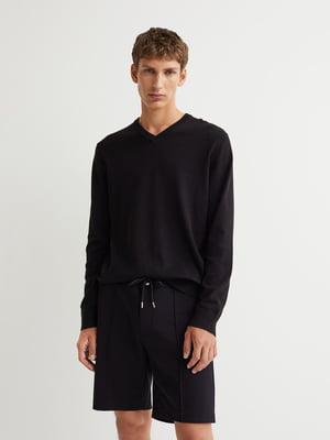 Пуловер черный | 5853222