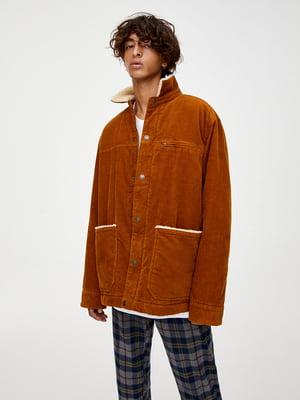 Куртка рудого кольору   5853505