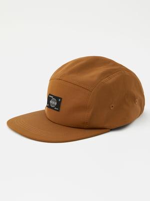 Кепка коричнева | 5853556