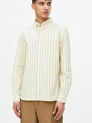 Сорочка жовта в смужку   5853628