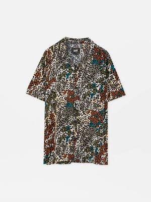 Рубашка анималистической расцветки   5853638