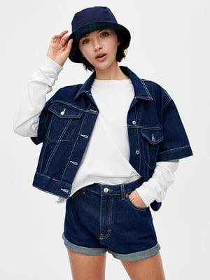 Шорты синие джинсовые   5853657