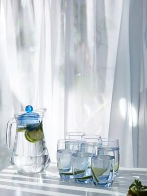 Набор: кувшин и стаканы (6 шт) | 5849847