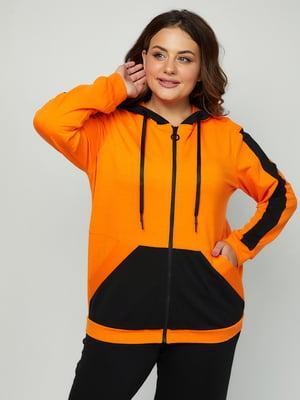 Толстовка оранжевая | 5858326
