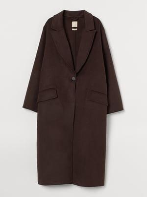 Пальто темно-коричневое   5856192
