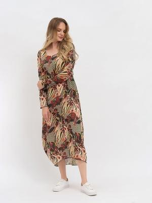 Платье в принт   3168063