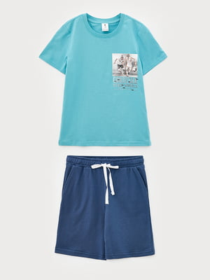 Комплект: футболка и шорты | 5860778