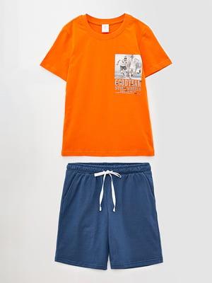 Комплект: футболка и шорты | 5860779