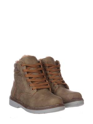 Черевики коричневі | 5795819