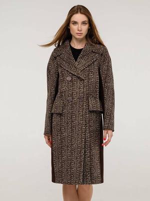 Пальто коричневое   5861108