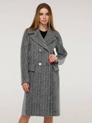 Пальто светло-серое   5861109