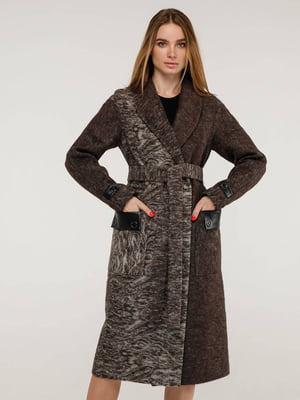 Пальто коричневое   5861112