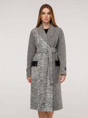 Пальто светло-серое | 5861114