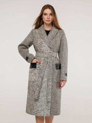 Пальто серое | 5861115
