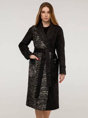 Пальто цвета старой кожи   5861116