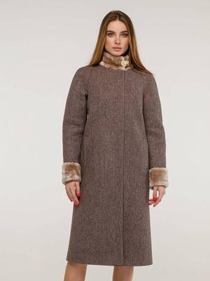 Пальто коричневое | 5861119