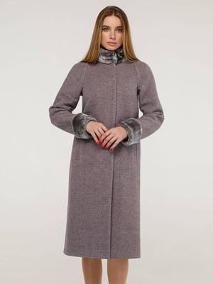 Пальто сиреневое | 5861126