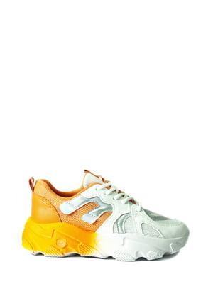 Кросівки комбінованого кольору | 5865173