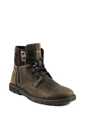 Ботинки коричневые | 5864488