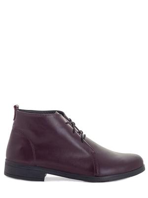 Ботинки бордовые | 5863767