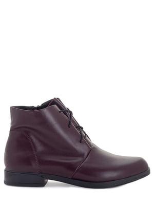Ботинки бордовые | 5863768