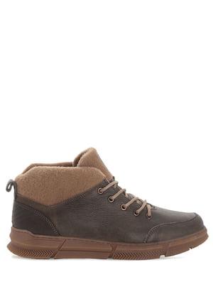 Ботинки цвета хаки   5863788