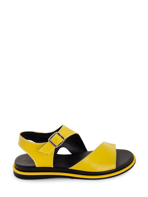 Босоніжки жовті   5863501