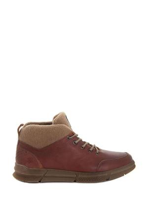 Ботинки рыжего цвета   5862676
