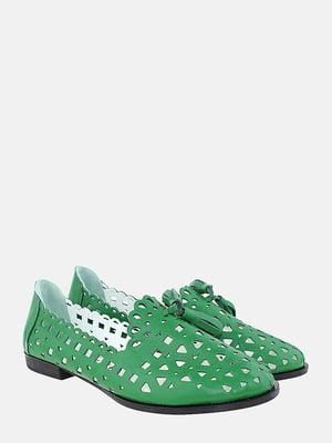 Балетки зелені | 5787694