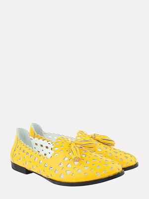 Балетки жовті | 5787696