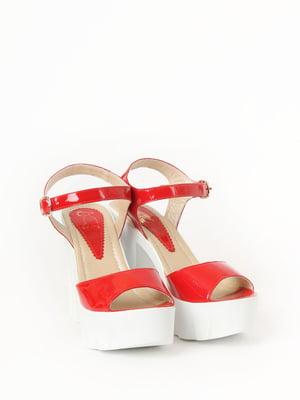 Босоніжки червоні | 5788900