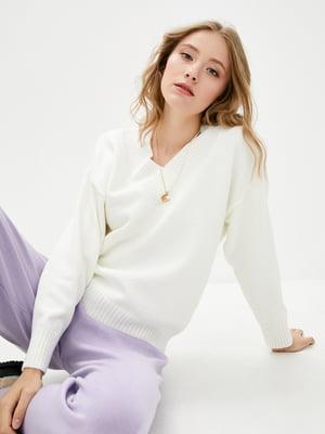 Пуловер білий   5866177