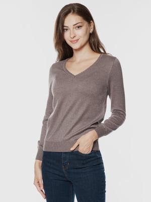 Пуловер коричневий   5866275