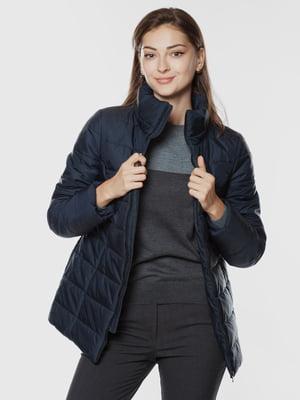 Куртка з водовідштовхувальної тканини синя   5866277