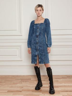 Сукня-сорочка джинсова синя   5866508
