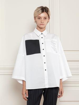 Сорочка біла з написом   5866547