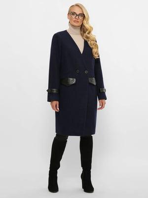 Пальто темно-синє   5869927