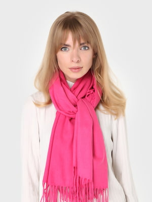 Палантин рожевий | 5872166