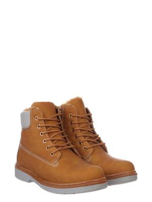Черевики коричневі | 5795648