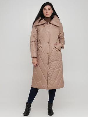 Пальто бежевое | 5872827