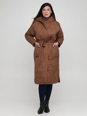 Пальто коричневое | 5872814