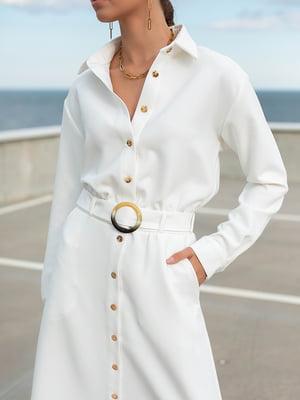 Сукня-сорочка біла   5873174