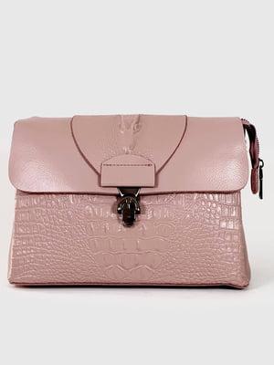 Сумка через плечо розовая | 5873476
