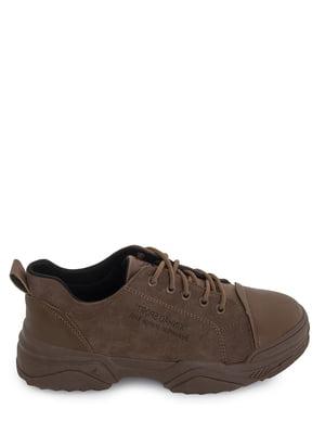 Кроссовки коричневые | 5873867