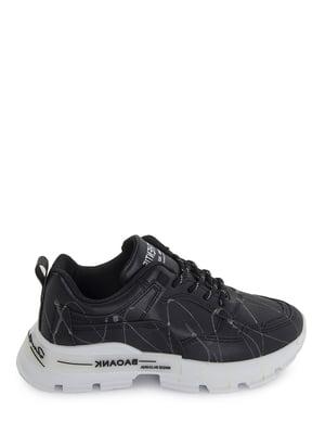 Кроссовки черные с рисунком | 5873874