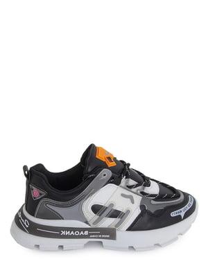 Кроссовки черные с логотипом | 5873875