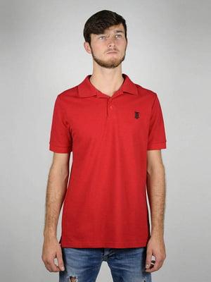 Футболка-поло красная | 5873941